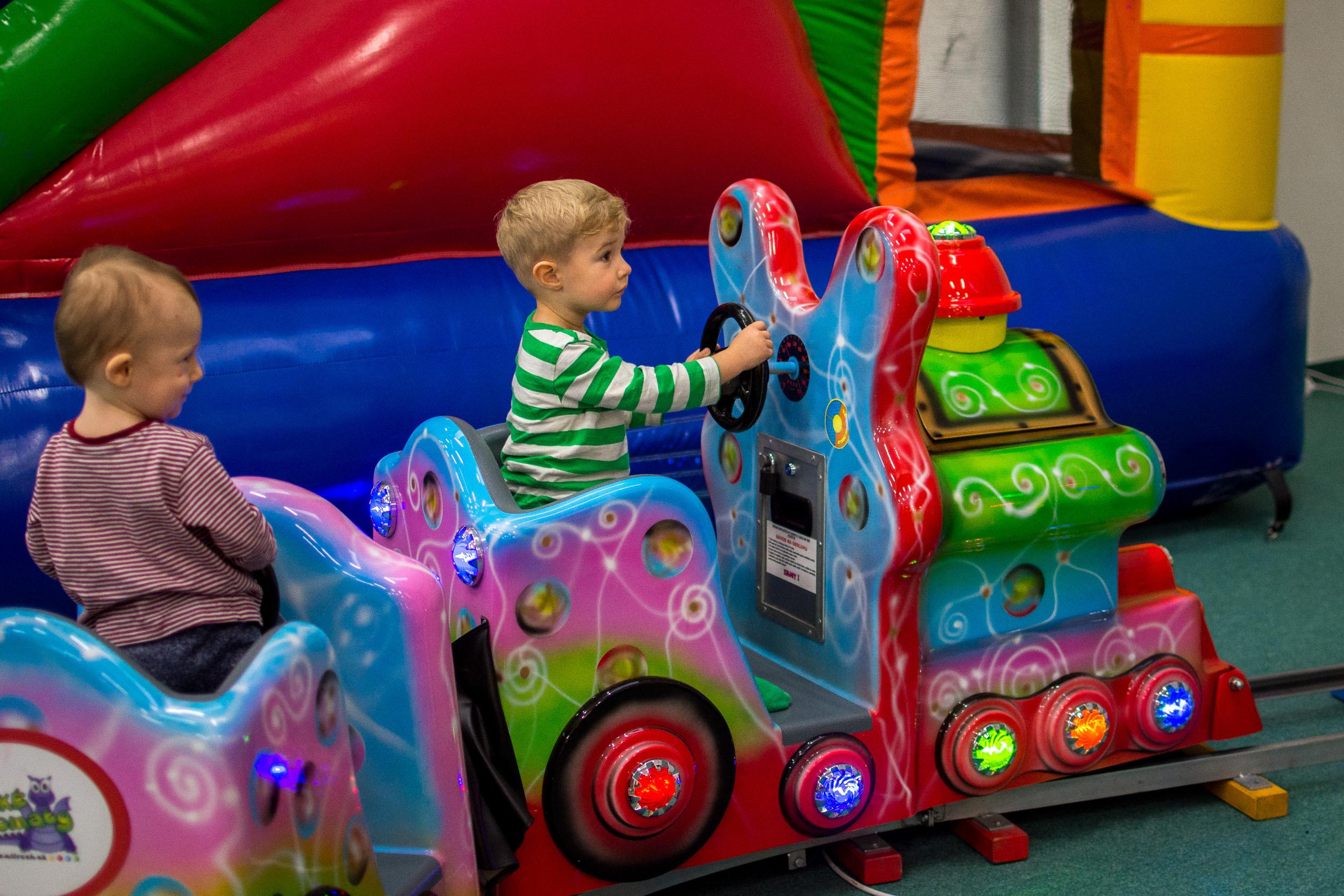 Detský vláčik Automat – za poplatok od 0,50€